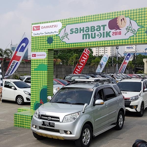 Mudik Bareng ala Daihatsu Indonesia