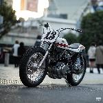 Inilah Yamaha XV750 Street Tracker yang Mengagumkan dari Jepang