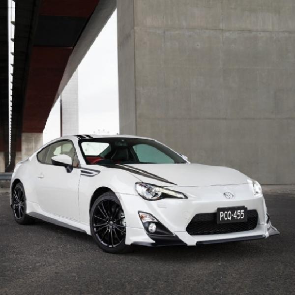 Toyota 86 Blackline Edition Hanya Diproduksi 450 Unit