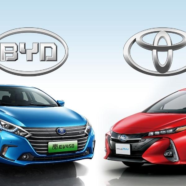 BYD dan Toyota Dirikian Perusahaan Baru, Produksi BEV
