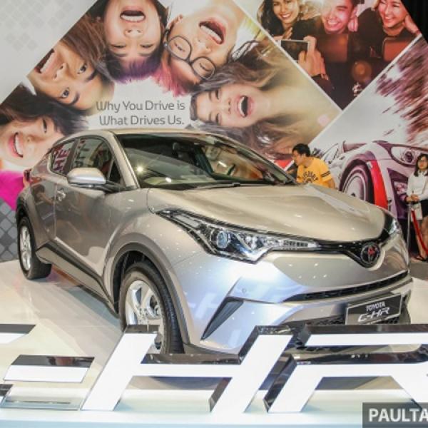 Toyota C-HR Sudah Mendarat di Malaysia