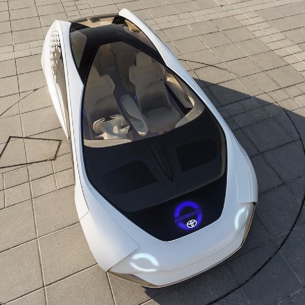 Teknologi AI pada Toyota all New Concept-i Hadir di CES 2017