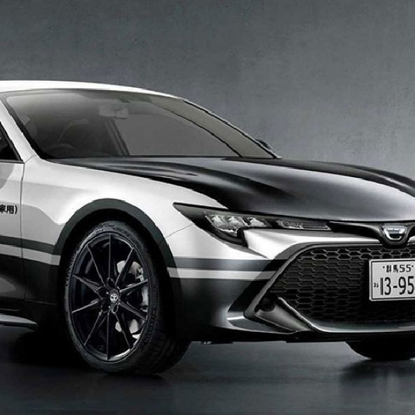 Rendering Toyota Corolla, Model dan Performa Terinspirasi Toyota AE86