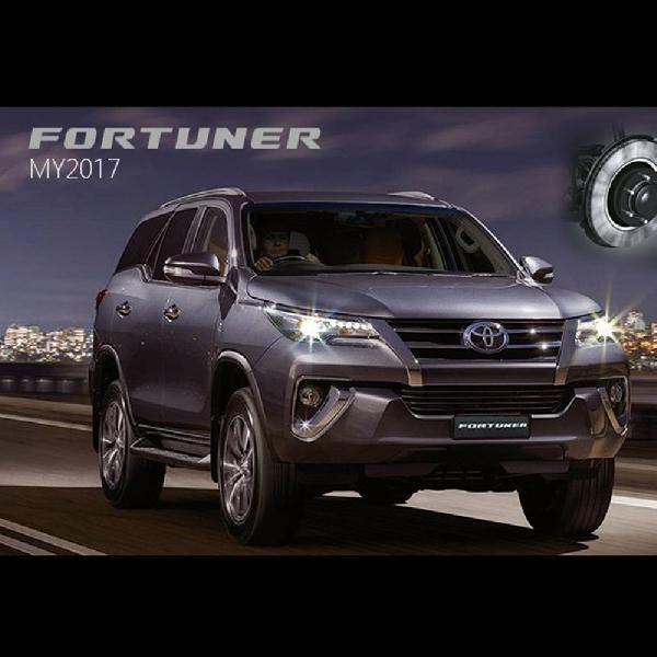 Toyota Fortuner Teranyar Mendarat di Thailand