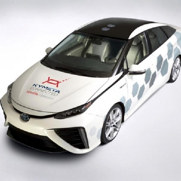 Toyota Mirai Hadir di Detroit Auto Show 2016 Dengan Teknologi Baru
