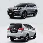 Toyota New Fortuner dan New Innova Mengaspal di Indonesia