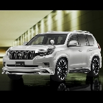 Wald Racik Body Kit Buat Prado dan Harrier