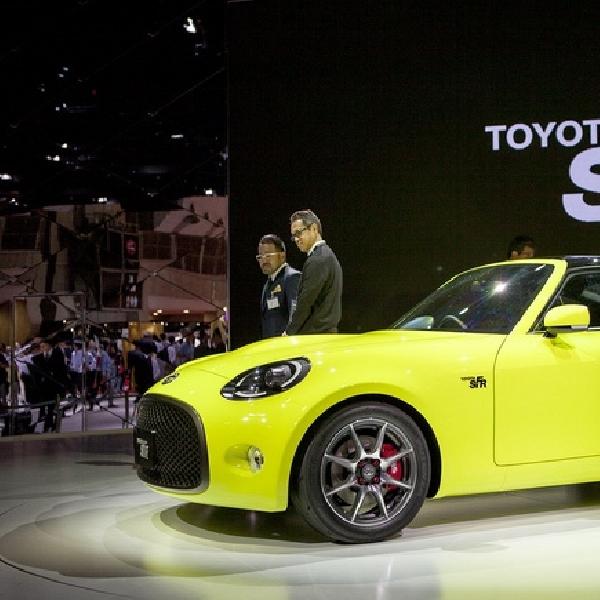 Toyota S-FR Akan Pakai Mesin 1,2 Liter Turbocahrger