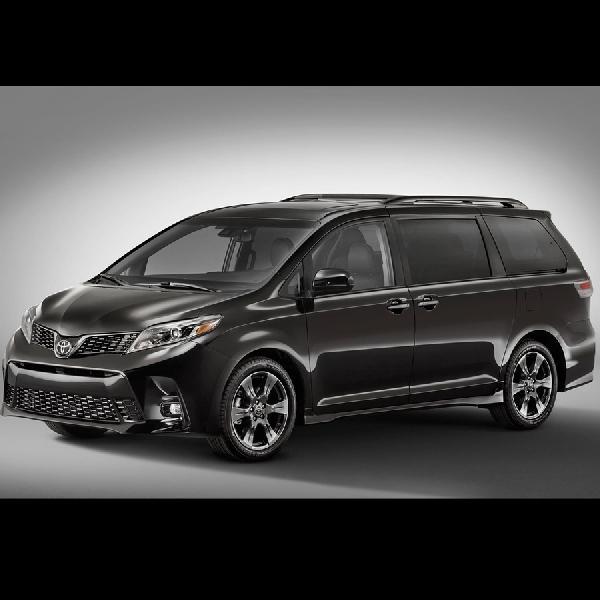 Toyota Sienna 2018 Hadir dengan Wajah dan Fitur Baru