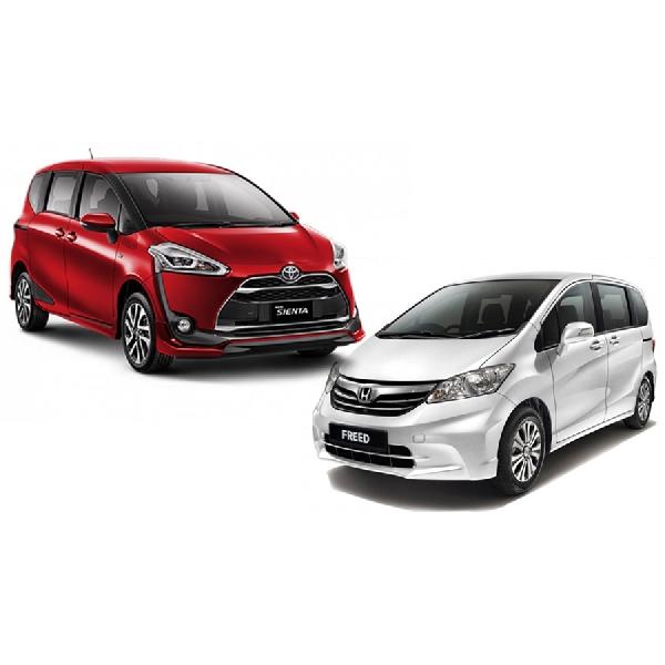 Toyota Sienta Vs Honda Freed, Pertarungan Dua MPV Jepang