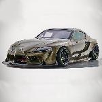 Toyota Sulap GR Supra Menjadi Mobil Drift 1000 Hp