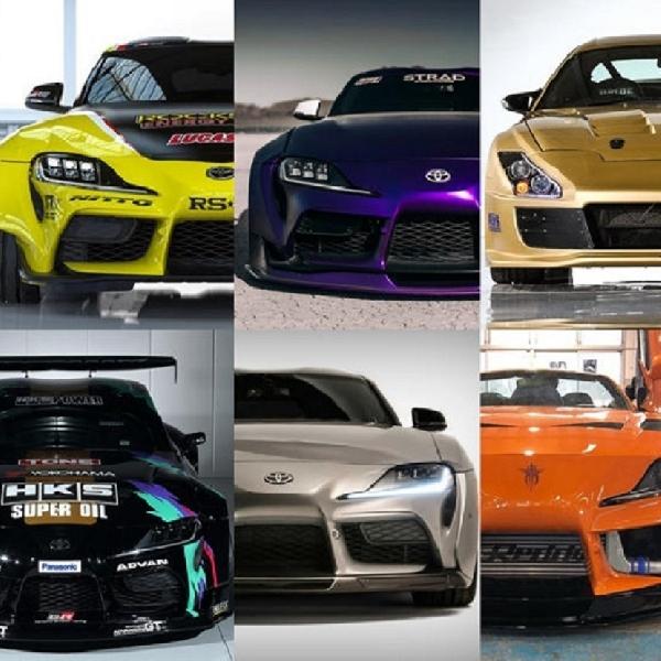 8 Pilihan Modifikasi Toyota Supra Yang Gahar (Part 2)