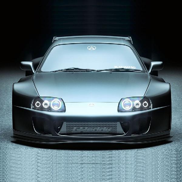 """Toyota Supra """"Big Black"""", Bagaimana Penampakannya?"""