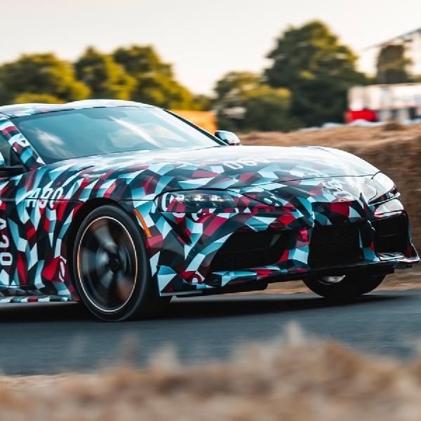 Intip Foto Bocoran dari Toyota Supra 2020