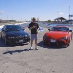 Supra Mk5 Adu Drag dengan BMW M3, Mesin Toyota 2JZ vs BMW B58