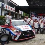 Toyota Team Indonesia Siap Tempur di Kelas Touring dan Slalom 2017