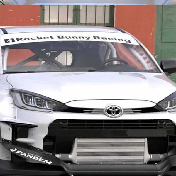 Toyota GR Yaris Dengan Body Kit Rocket Bunny Kit Tampil Lebih Ekstrim