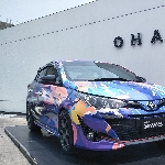 New Toyota Yaris Ramaikan Akhir Pekan Warga Semarang