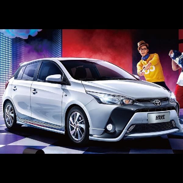 Toyota Yaris Terbaru Meluncur di China