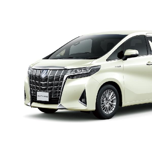 Toyota Alphard Facelift Dikenalkan Besok
