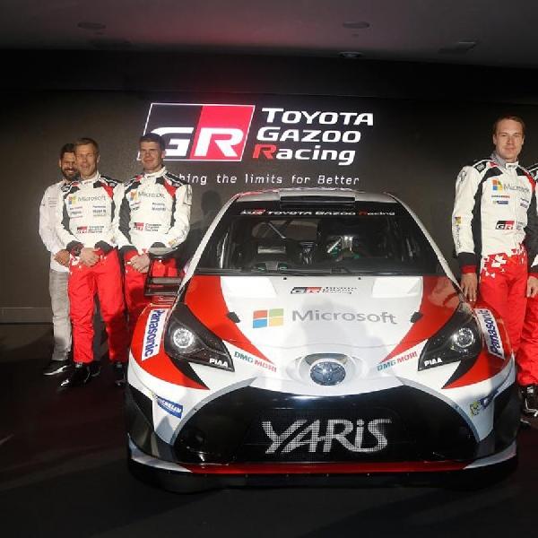 Melalui Yaris, Gazoo Racing Siap Ramaikan WRC 2017