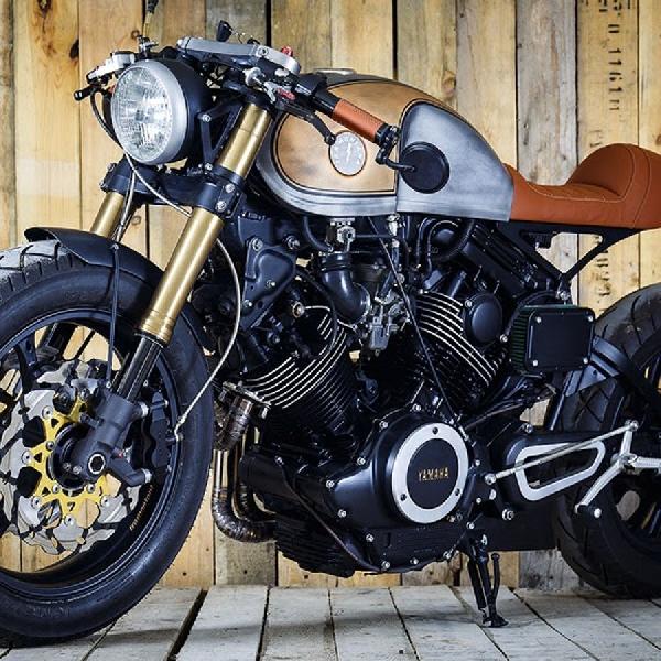 Tramontana, Wujud Kustomisasi Yamaha XV750 Virago ala Gen Cafe Racer