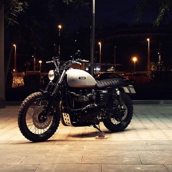 Triumph Bonneville Steve McQueen Karya Absolut Motorcraft, Pertahankan Kualitas