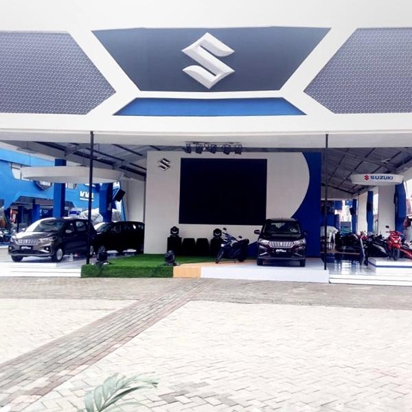 Deretan Kendaraan Suzuki di Jakarta Fair Kemayoran 2018