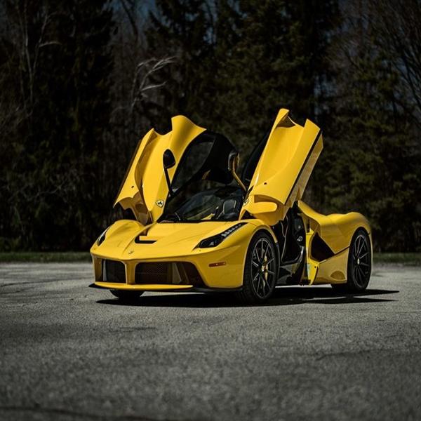 Dimodif, Ferrari LaFerrari Kuning Makin Macho