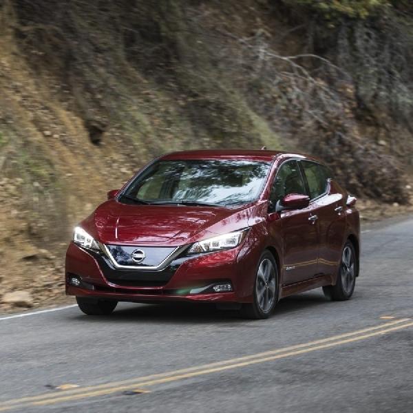 Penjualan Nissan Leaf Mengalami Peningkatan di AS