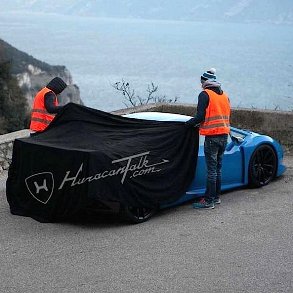 Lamborghini Huracan Superleggera diuji Di Jalanan Bersalju