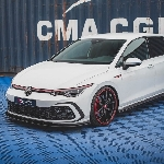 Tuner Maxton Design Kasih Body Kit Halus untuk Volkswagen Golf 8 GTI 2021