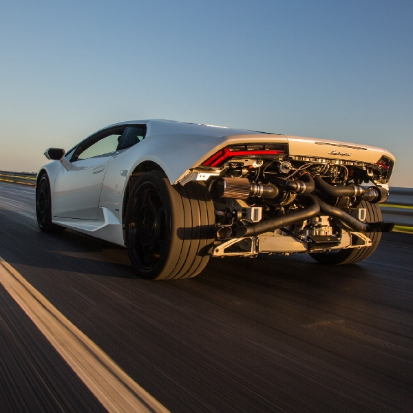 Di Texas, Modifikasi Huracan Dual Turbo 845 Whp Jadi Real Street Racing