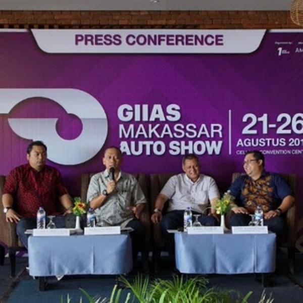 Ingat, Besok GIIAS Makassar Auto Show 2018 Dimulai