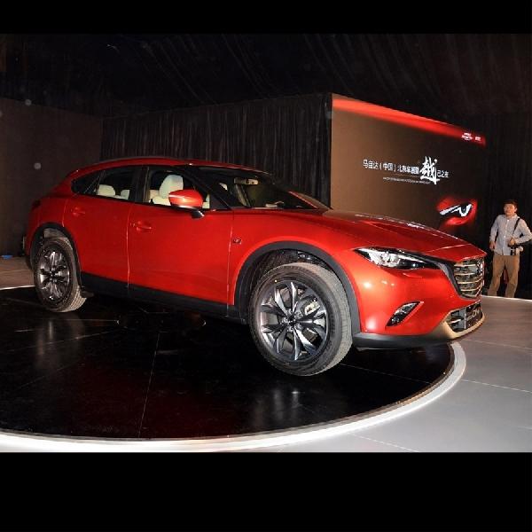 Inilah Wujud Asli Mazda CX-4