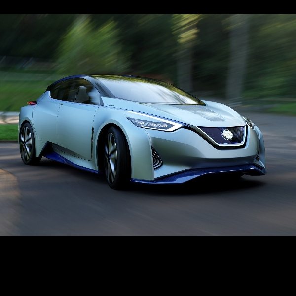 Mobil Listrik Nissan Nanti Bisa Jalan Sendiri
