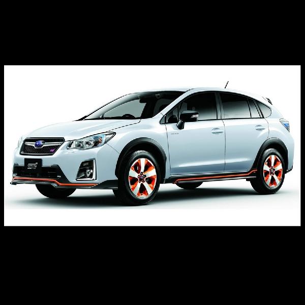 Subaru kenalkan SUV Hybrid dengan sentuhan STI