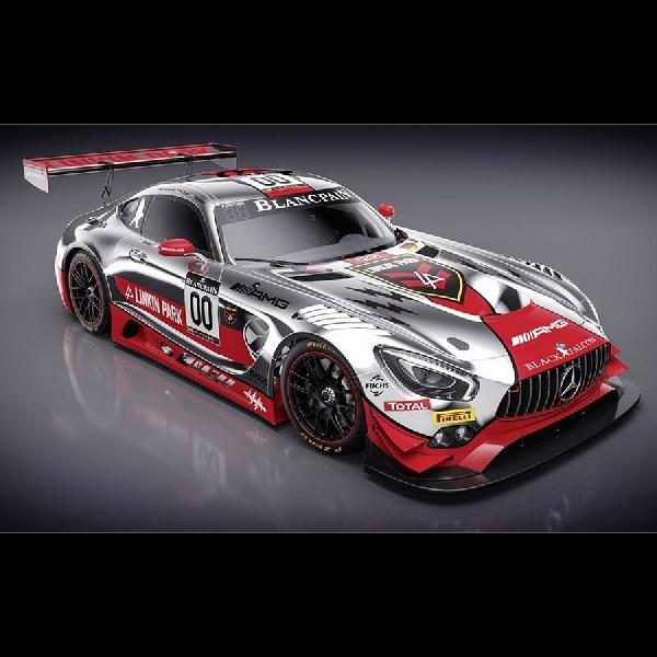 Mercedes-AMG GT3 Livery dengan Linkin Park Ikut Ramaikan Spa 24 Hours