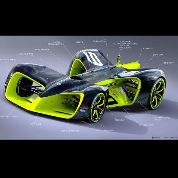 Roborace bocorkan desain untuk Autonomous Race tahun mendatang