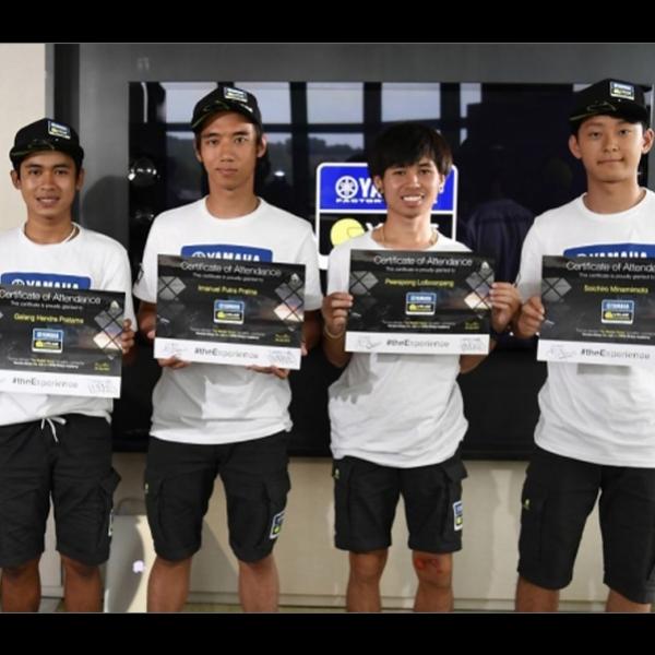 Galang Hendra dan Imanuel Pratna selesaikan VR46 Riders Academy