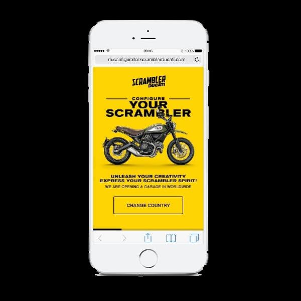 Ciptakan Ducati Scrambler favoritmu