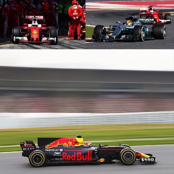 F1: Ferrari, Mercedes dan Red Bull jadi Momok Musim 2017