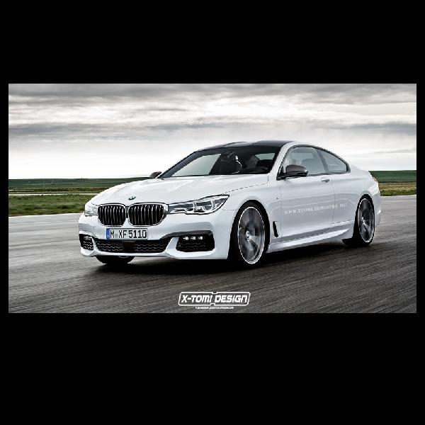 BMW Rencanakan Seri-7 versi Coupe