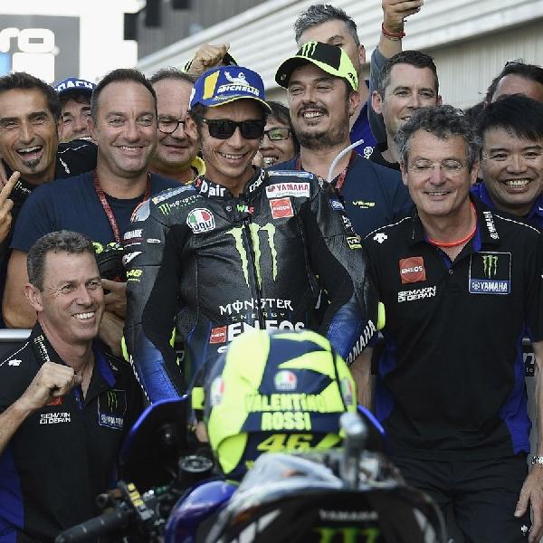 MotoGP: Valentino Rossi Bandingkan Musim Ini dengan Kondisi Bersama Ducati