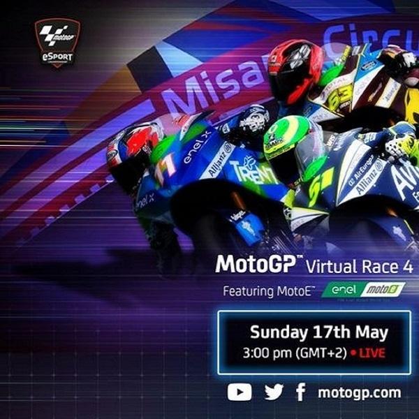 MotoGP: Valentino Rossi Kembali Membalap di Grand Prix Virtual