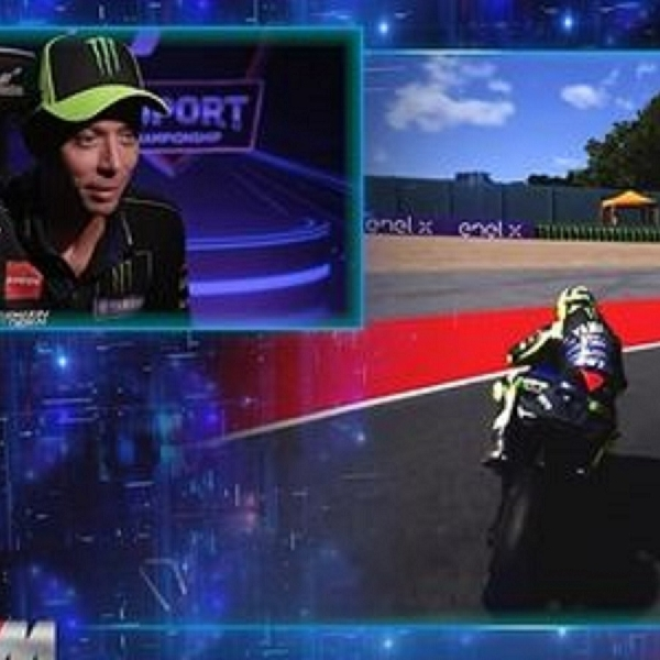 MotoGP: Valentino Rossi Nikmati Debut di MotoGP Virtual Race