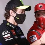 MotoGP: Valentino Rossi Sambut Andrea Dovizioso Jadi Rekan Setim di Petronas SRT Yamaha