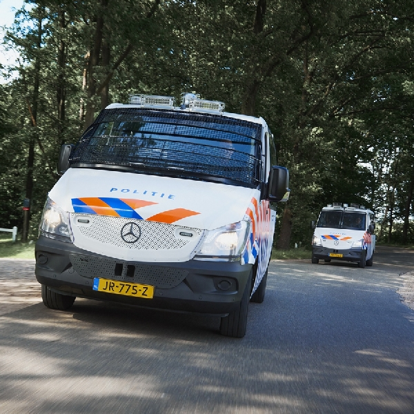 Van Mercedes Benz Sprinter Dijadikan Armada Polisi Belanda