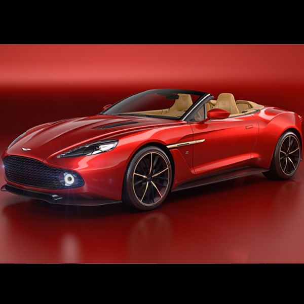 Aston Martin Umumkan Vanquish Zagato Volante