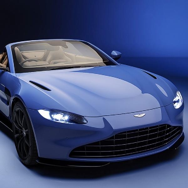 Intip Foto Aston Martin Vantage Convertible 2020 Disini
